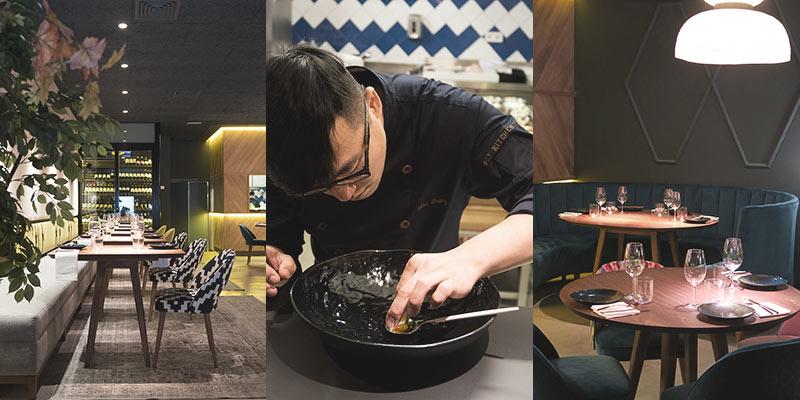 la mejor gastronomía creativa oriental